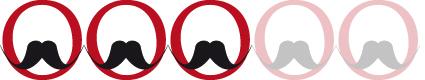 Moustache humide