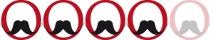 Moustache enthousiaste mais