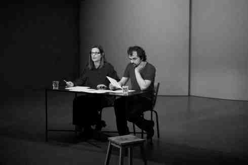 Marie Nimier et Philippe Calvario font l'amour aux mots, avec poigne et machisme.